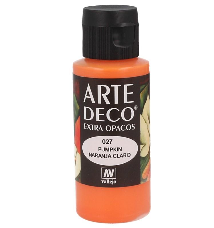 Pt0027 - Peinture acrylique orange clair