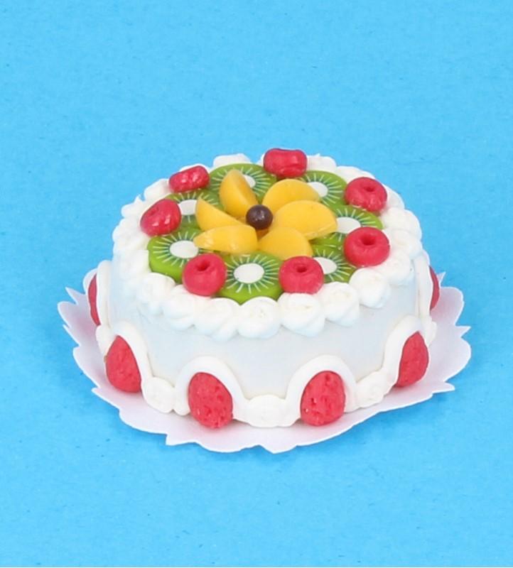 Sm0012 - Gâteau avec des fruits