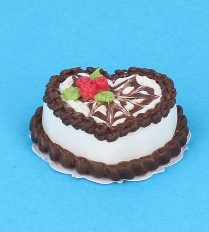 Sm0109 - Tarta corazon de chocolate