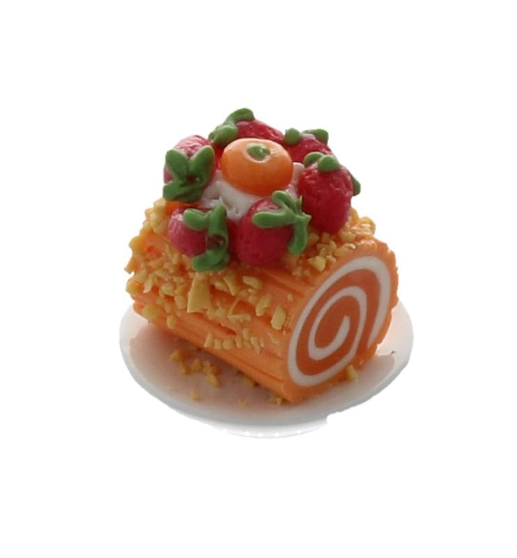 Sm0611 - Portion de gâteau roulé