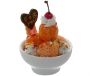 Sm1102 - Bowl with four orange scoops