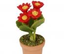 Sm4704 - Pot avec des fleurs