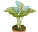 Sm4727 - Flower pot with light blue flowers