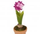Sm4731 - Pot avec fleurs lilas
