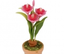 Sm4710 - Flower pot with flowers