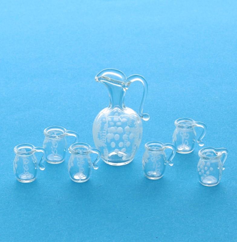 Tc0428 - Set de pichet et verres