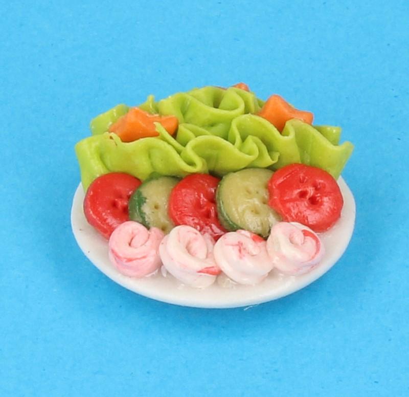 Tc1054 - Plato con ensalada
