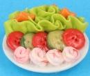 Plato con ensalada