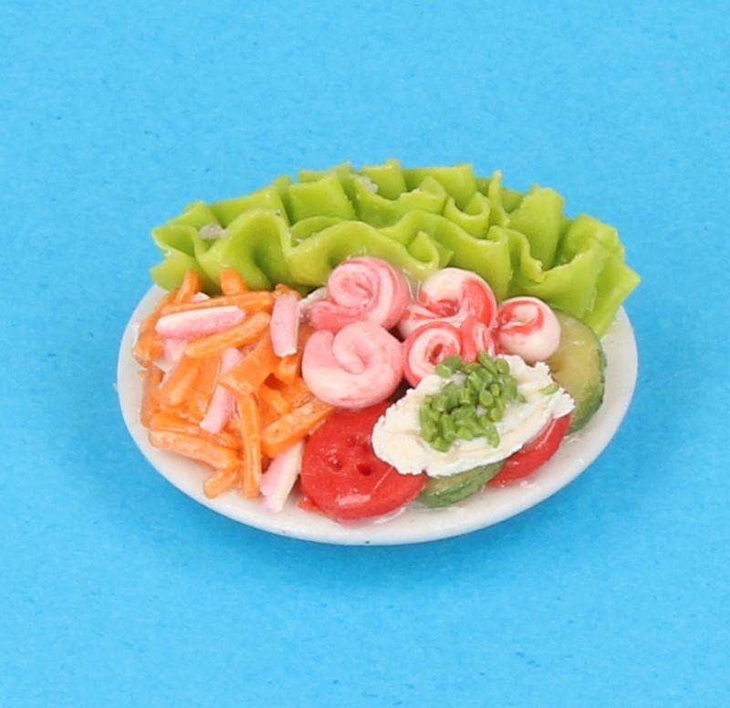 Tc1085 - Plato con ensalada