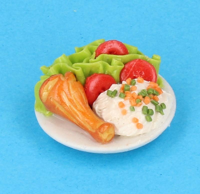 Tc1094 - Plato de comida