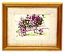 Tc1836 - Picture with lilac flowers