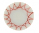 Cw0255 - Dish with red decoration