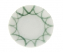 Cw0257 - Dish with green decoration