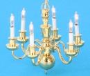 Lp0118 - Lustre 6 bougies