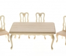 Mb0210 - Set of table and four chairs