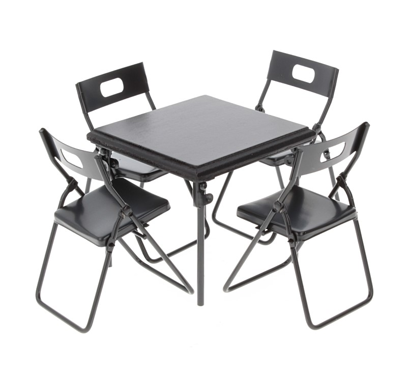 Mb0301 - Table et quatre chaises