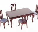 Mb0358 - Table with 4 chairs