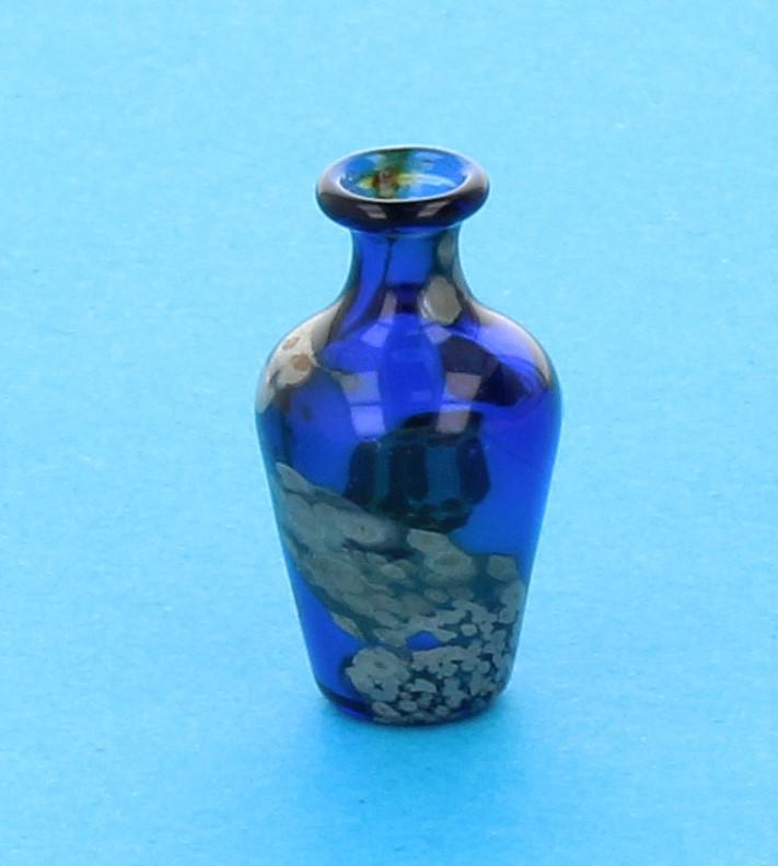 Tc0342 - Vase à décor bleu