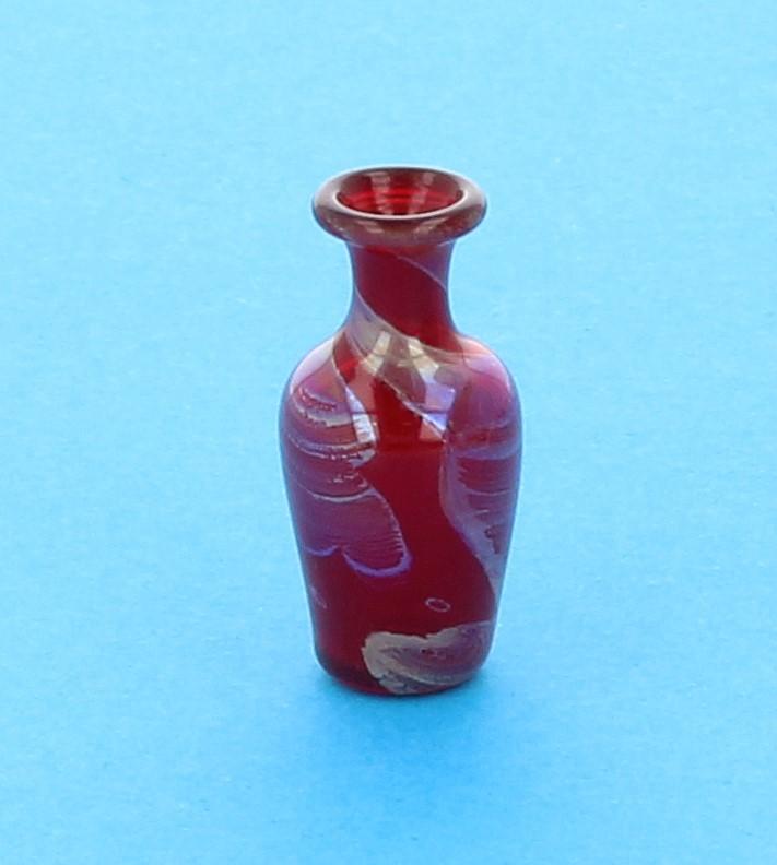 Tc0774 - Vase décoration rouge