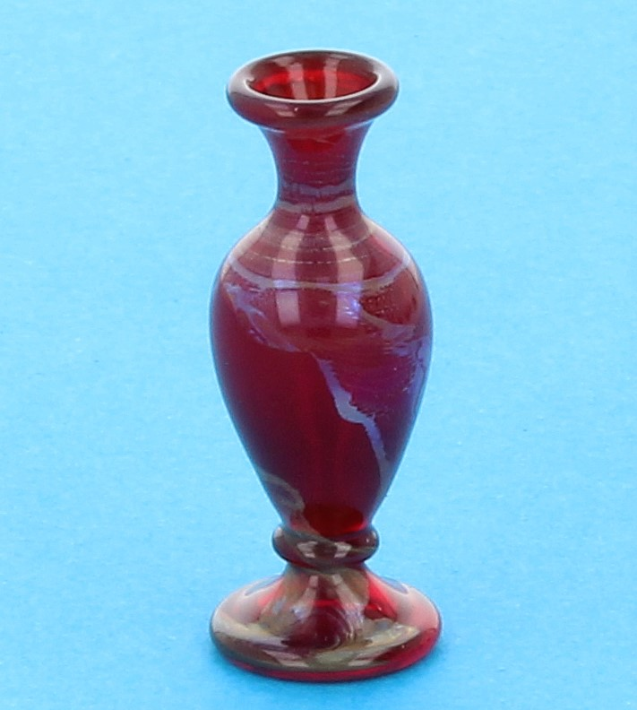 Tc0937 - Vase décoration rouge