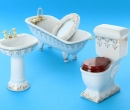 Tc5062 - 4 piece Gold Toilet
