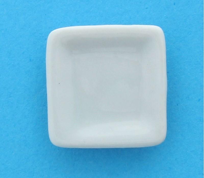 Cw0413 - Assiette carrée