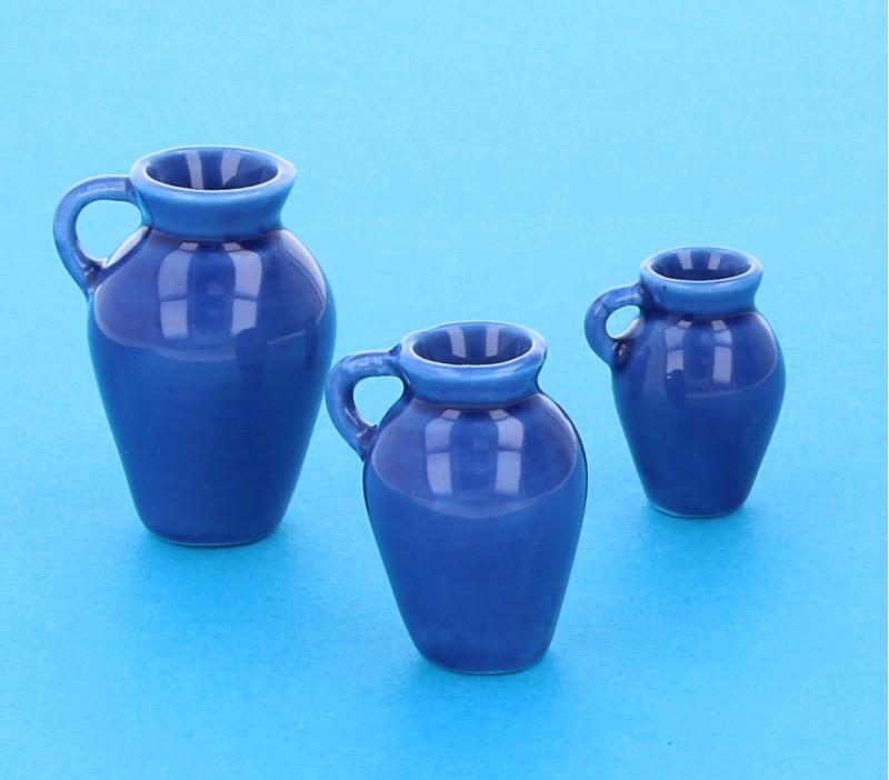 Cw1704 - Lot de 3 pots