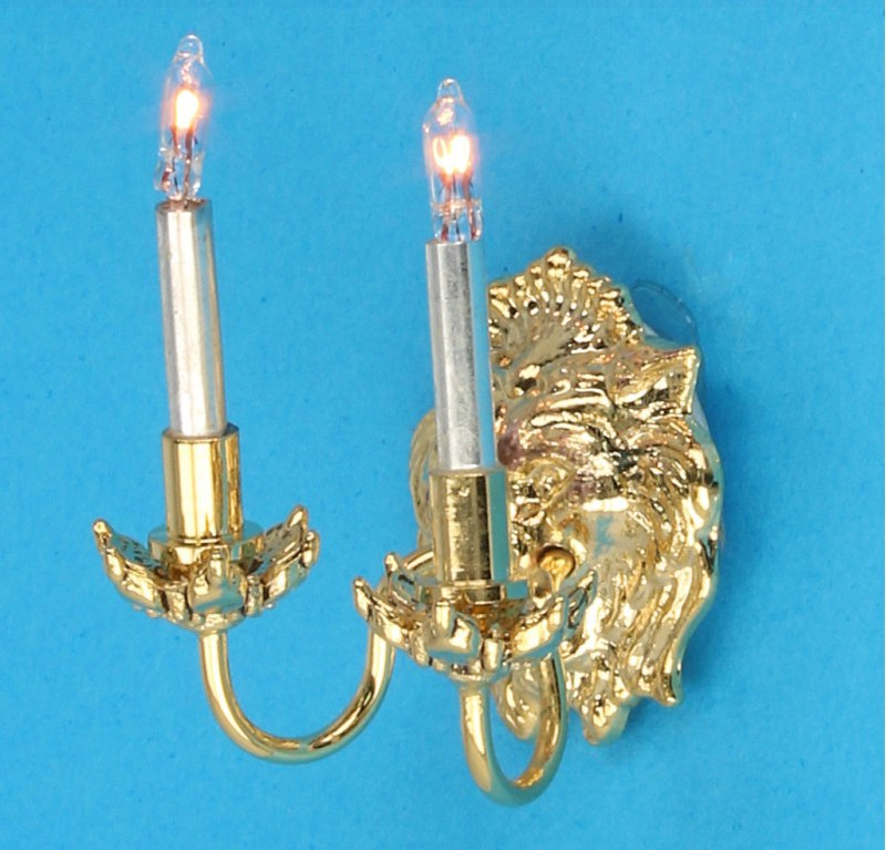 Lp0130 - Wall lamp with 2 candles