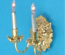 Lp0130 - Applique deux bougies