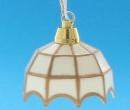 Lp0135 - Lampe tiffany blanche