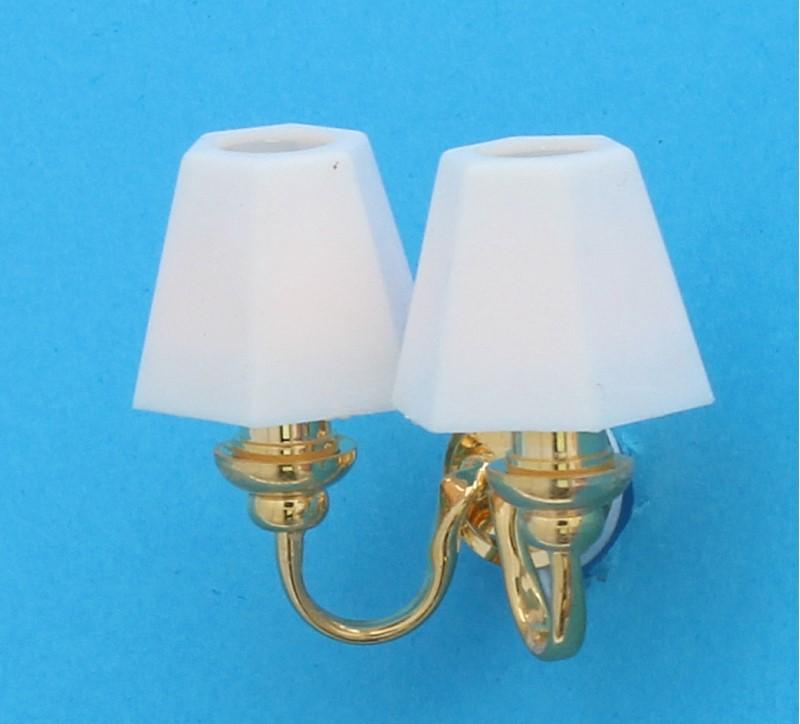 Lp0139 - Lampe 2 tulipes