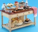 Re17271C - Table with cakes