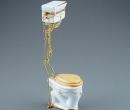Re17441 - Toilette dekoriert Modell Victoria