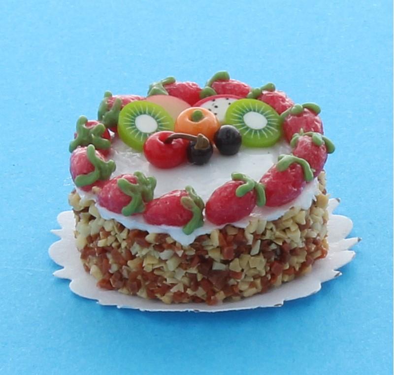 Sm0064 - Gâteau aux fruits