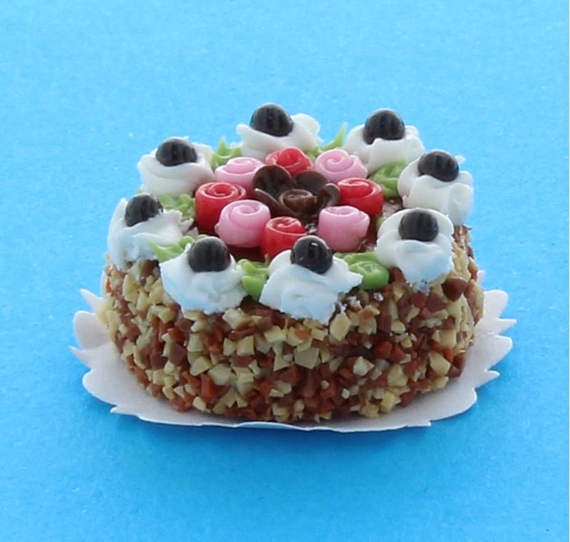 Sm0151 - Gâteau aux fleurs