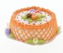 Sm0205 - Cream Cake with Flowers