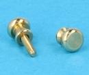 Tc1010 - Boutons de porte dorés