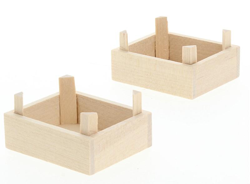Tc1023 - Deux caisses en bois