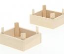 Tc1023 - Zwei Holzkisten