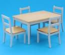 Cj0004 - Conjunto mesa y sillas