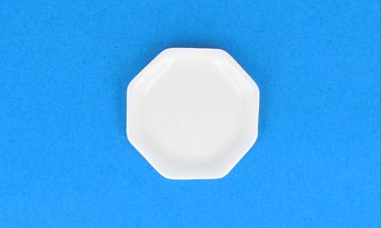 Cw0334 - Assiette blanche