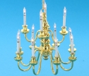 Lp0150 - Chandelier with 12 candles