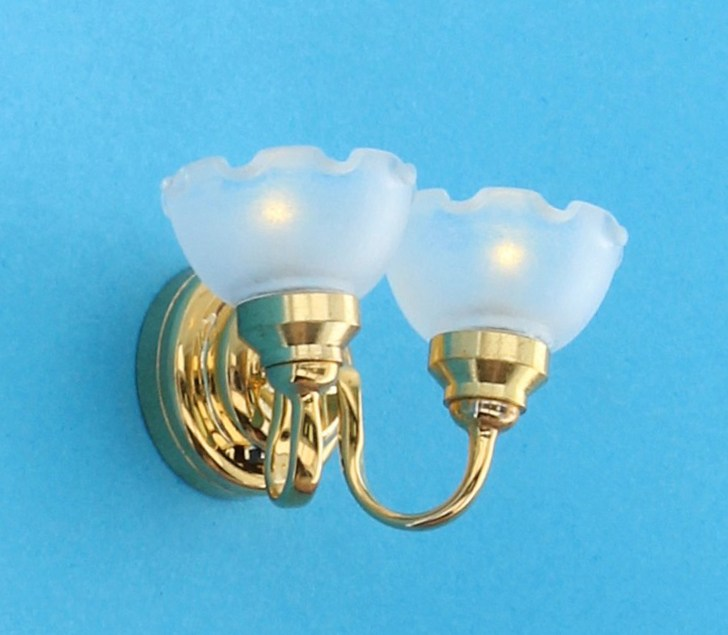 Lp4010 - Wall lamp with two lights LED