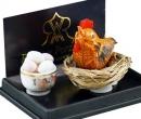 Re14955 - Poule et œufs