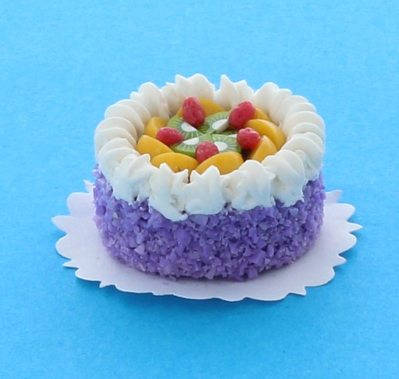Sm0010 - Gâteau au macédoine de fruits