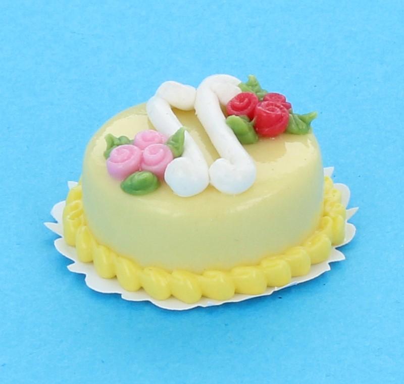 Sm0016 - Gâteau au chocolat blanc