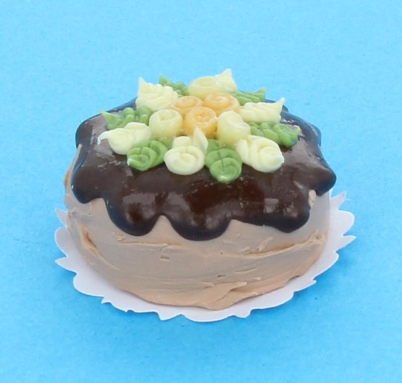 Sm0083 - Gâteau aux fleurs