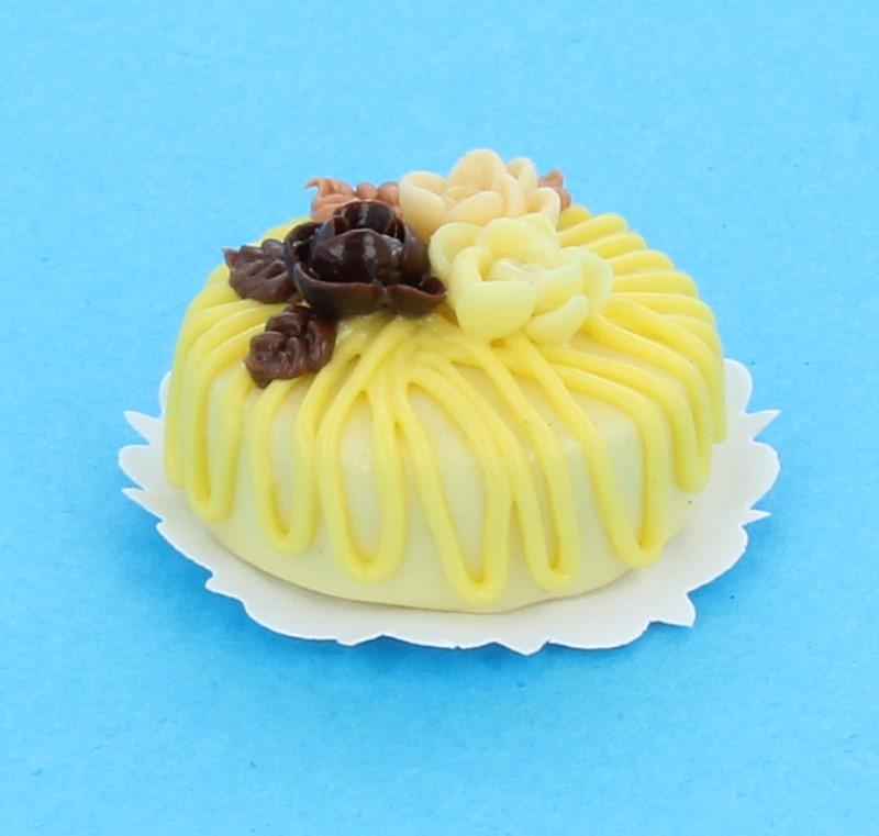 Sm0084 - Gâteau aux fleurs