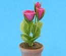 Sm4701 - Maceta con flores