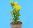 Sm4731 - Maceta con flores amarillas